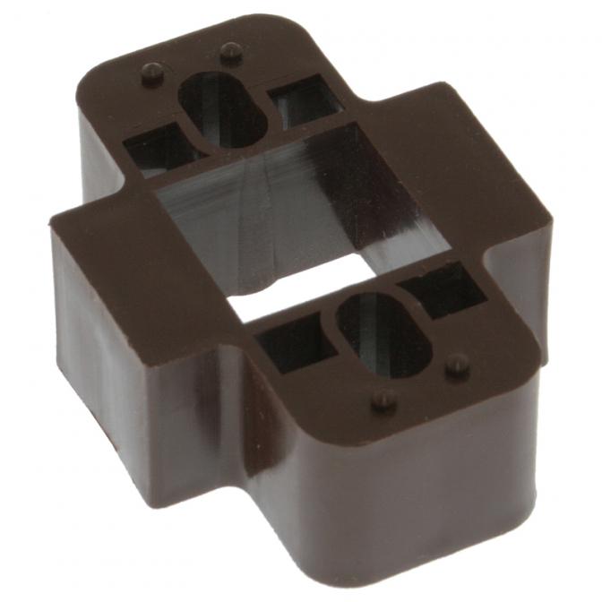 Подкладка под колодку, Н=18 мм, коричневая