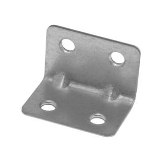 Уголок монтажный 20х20 мм, с ребром жёсткости