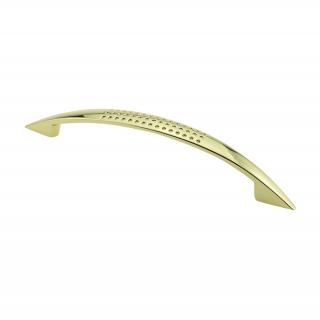 Ручка мебельная DN-88, 128 мм, золото, DC (OL)
