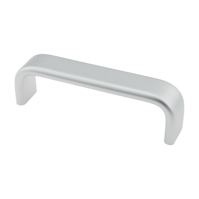 Ручка мебельная DU-26, 160 мм, алюминий, DC