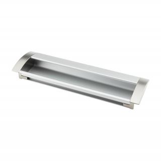 Ручка мебельная UA-08, 96 мм, алюминий/сатин, DC