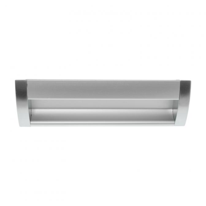 Ручка мебельная UA-08, 160 мм, алюминий, DC