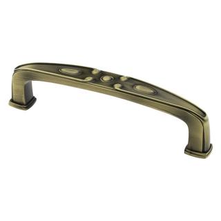 Ручка мебельная DR-52, 128 мм, бронза, DC