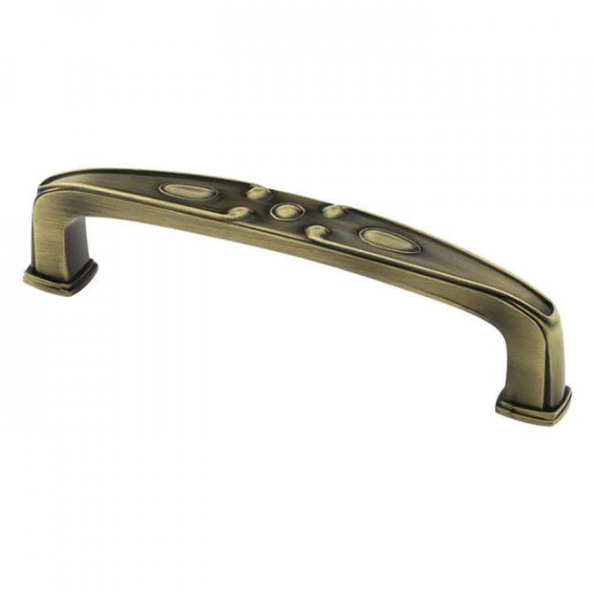 Ручка мебельная DR-52, 96 мм, бронза, DC