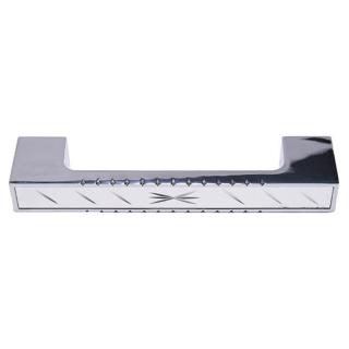 Ручка мебельная 146, 96 мм, сатин/хром