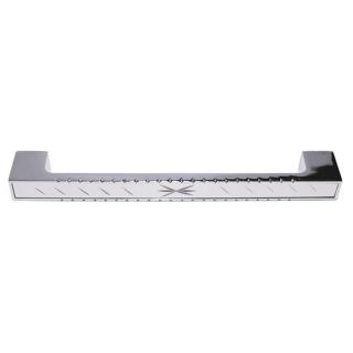 Ручка мебельная 149, 192 мм, сатин/хром