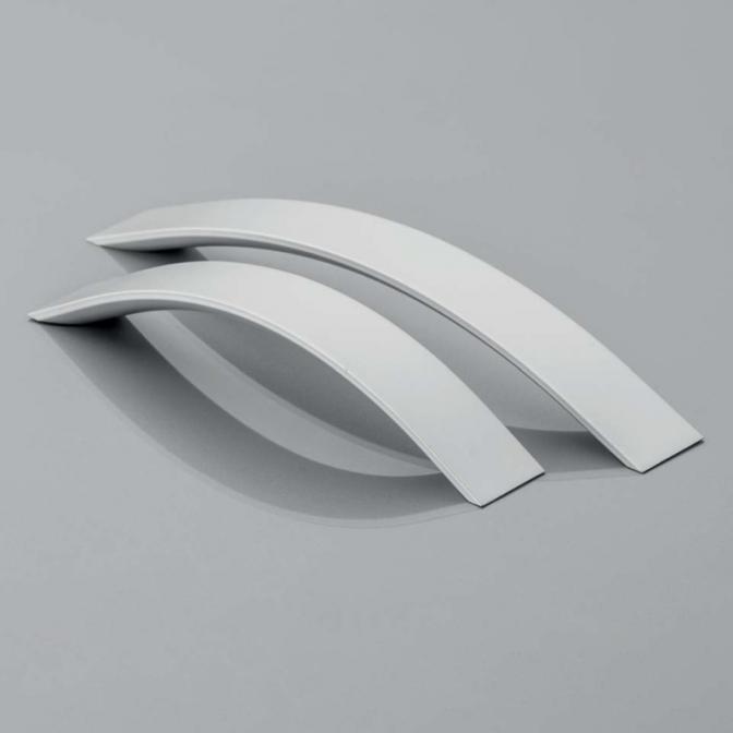 Ручка мебельная UA-338, 128 мм, алюминий, GTV