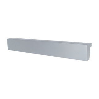 Ручка мебельная DU-02, 224 мм, алюминий, DC