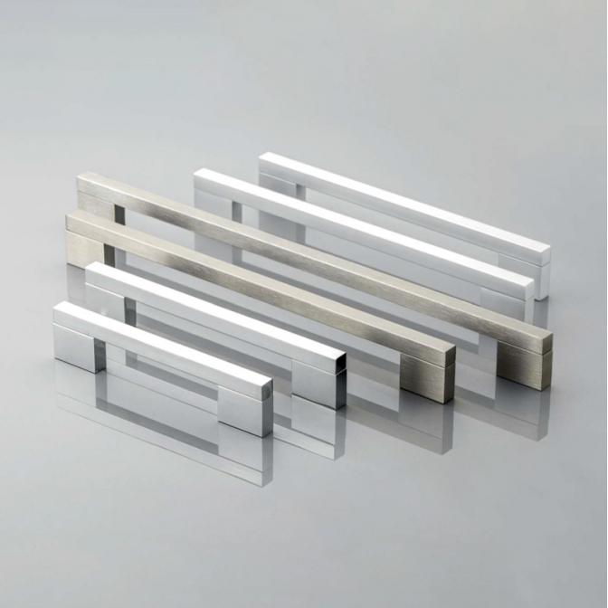 Ручка мебельная UA-18, 256 мм, алюминий, GTV