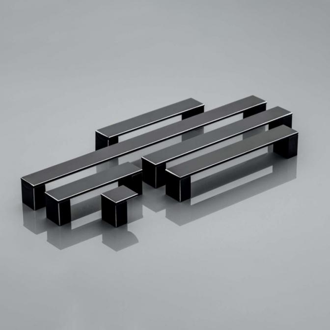 Ручка мебельная Ares, 320 мм, чёрная, GTV
