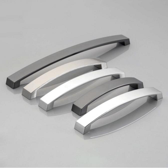Ручка мебельная UZ-G1, 160 мм, алюминий, GTV