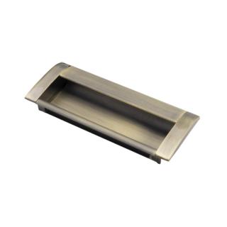 Ручка мебельная UA-08, 96 мм, бронза