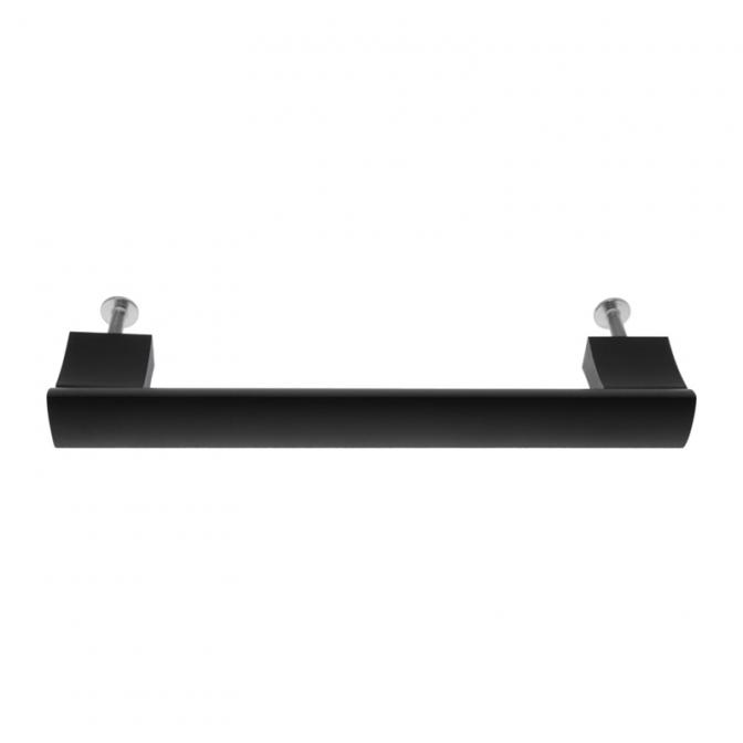 Ручка мебельная UA-B311, 160 мм, чёрная, GTV
