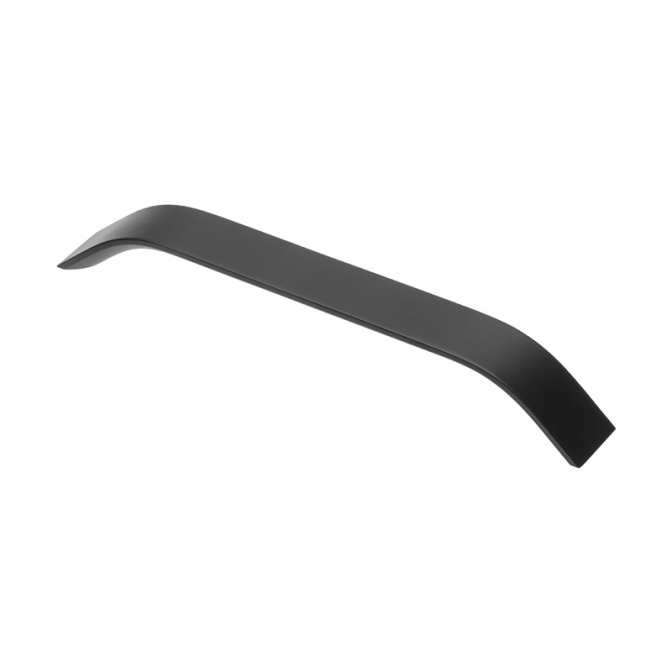 Ручка мебельная UA-337, 224 мм, чёрная, GTV