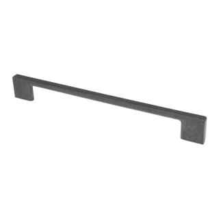Ручка мебельная UZ-819, 320 мм, античное серебро, GTV
