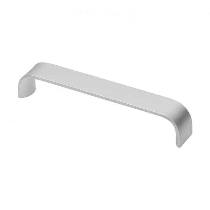 Ручка мебельная UA-347, 160 мм, алюминий, GTV