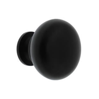 Ручка мебельная Bergamo, чёрная, GTV
