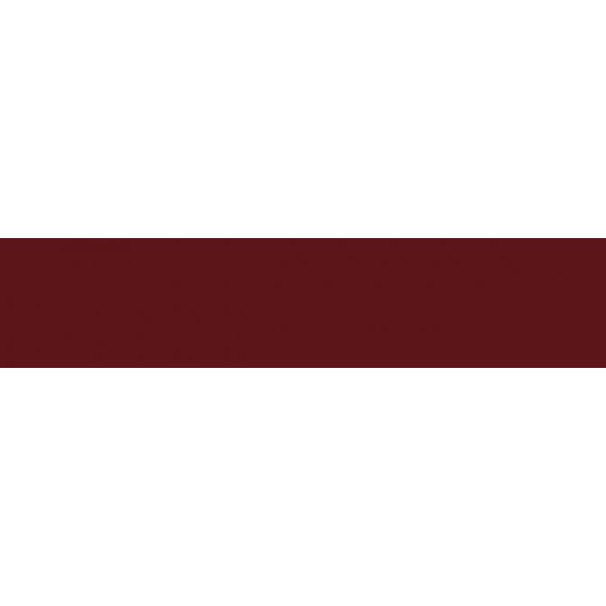 Кромка ABS 23х2, 76393 Темно красный, Rehau