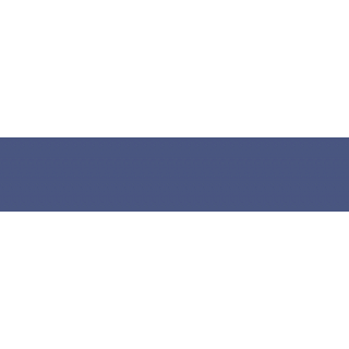 Кромка ABS 23х2, V0383 Стальной синий, Rehau