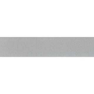 Кромка ABS 23х1,3, 587E Высокоглянцевая Серебряный метал, Rehau