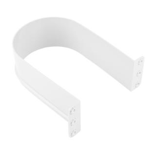 Пластиковый ограничитель для сифона U - образный, белый, Mesan