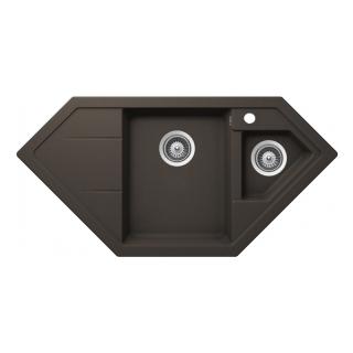 Мойка кухонная Astral 80 E-TG, коричневый, Teka