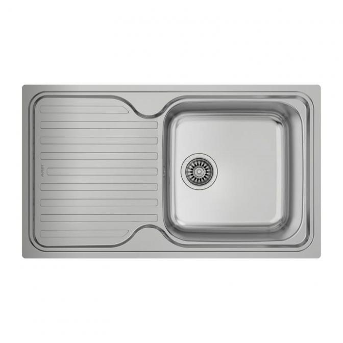 Мойка кухонная Classic 1B 1D (10119057), микротекстура, Teka
