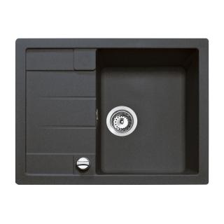 Мойка кухонная Astral 45 B-TG (40143518), чёрный металлик, Teka