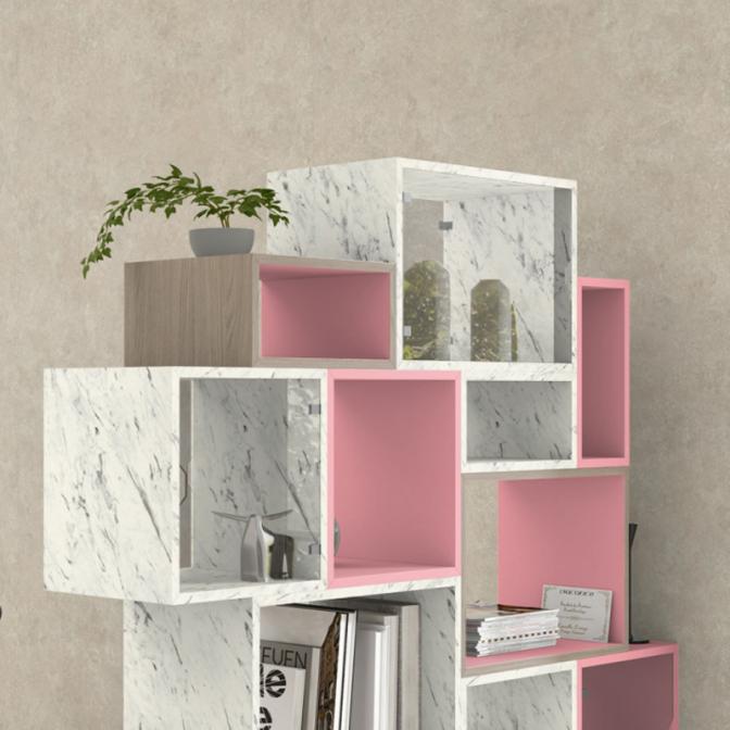 ДСП Egger U363 ST9 Фламинго розовый, 2800х2070х18