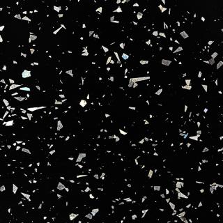 Столешница LuxeForm WS2008 Черный кристалл, 4200х600х38 (м.пог.)