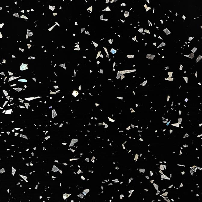 Столешница LuxeForm WS2008 Черный кристалл, 3050х600х38 (м.пог.)