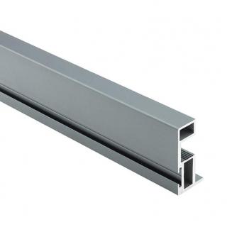 Вертикальный профиль Бавария, L=5100 мм, серый, DC Profiline
