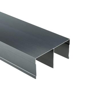 Верхняя направляющая Бавария/Модена, L=5500 мм, графит, DC Profiline