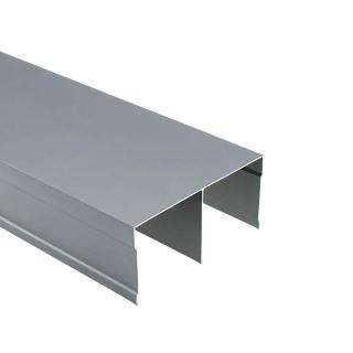 Верхняя направляющая Бавария/Модена, L=5500 мм, серый, DC Profiline