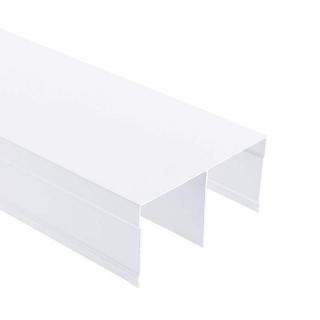 Верхняя направляющая, L=5500 мм, белый глянец, DC Standard