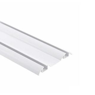 Нижняя направляющая, L=5500 мм, белый глянец, DC Standard