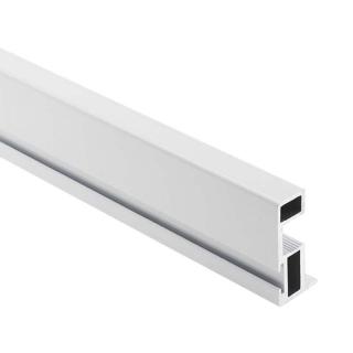 Вертикальный профиль Бавария, L=5100 мм, белый глянец, DC Profiline