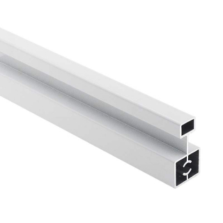 Соединительный профиль Бавария, L=5500 мм, белый глянец, DC Profiline