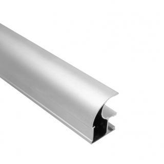 Вертикальный профиль, L=5200 мм, серебро, DC Standard