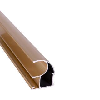 Вертикальный профиль, L=5100 мм, золото, DC Standard