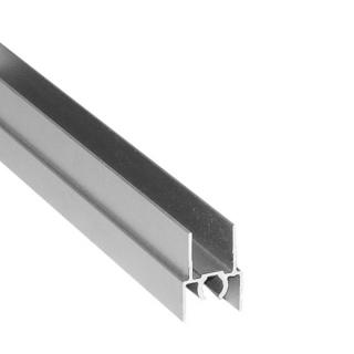 Верхний горизонтальный профиль, L=5500 мм, серебро, DC Standard