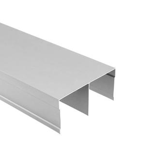 Верхняя направляющая, L=5500 мм, серебро, DC Standard