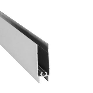 Нижний горизонтальный профиль, L=5500 мм, серебро, DC Standard