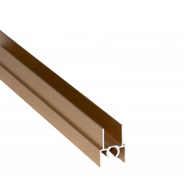 Верхний горизонтальный профиль, L=5500 мм, золото, DC Standard