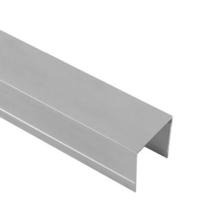 Верхняя направляющая одинарная, L=5500 мм, серебро, DC Standard