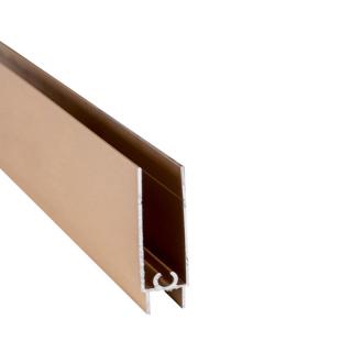 Нижний горизонтальный профиль, L=5500 мм, золото, DC Standard