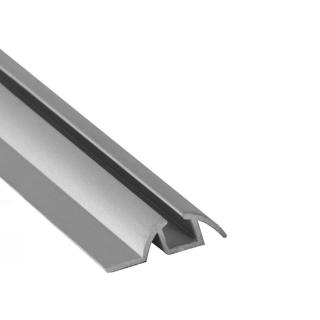 Нижняя направляющая одинарная, L=5500 мм, серебро, DC Standard