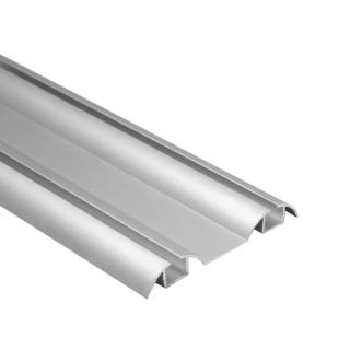 Нижняя направляющая, L=5500 мм, серебро, DC Standard
