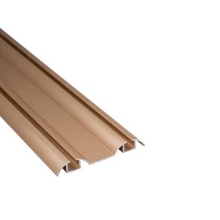 Нижняя направляющая, L=5500 мм, золото, DC Standard