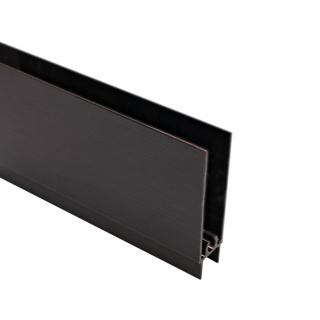 Нижний горизонтальный профиль, L=5500 мм, венге, DC Standard